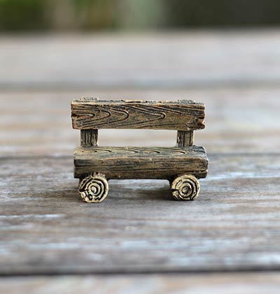 Cool Log Fairy Garden Bench The Weed Patch Ibusinesslaw Wood Chair Design Ideas Ibusinesslaworg