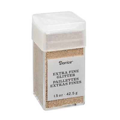 Extra Fine Glitter - Champagne (1.5 ounces)
