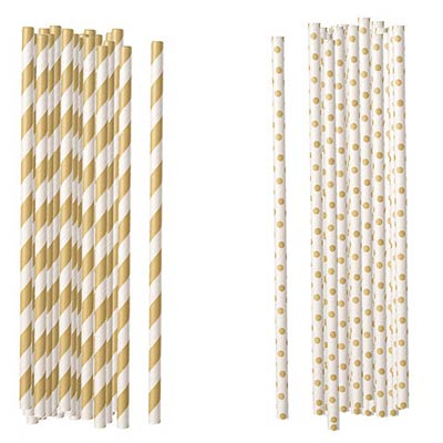 Kraft Paper Straws (Set of 100)
