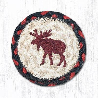 Moose Braided Coaster
