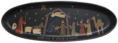 Nativity Primitive Tray