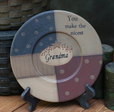You Make The Nicest Grandma Plate