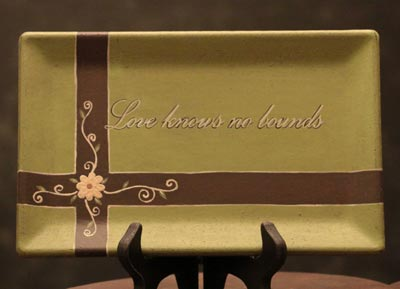 Love Knows Rectangle Tray