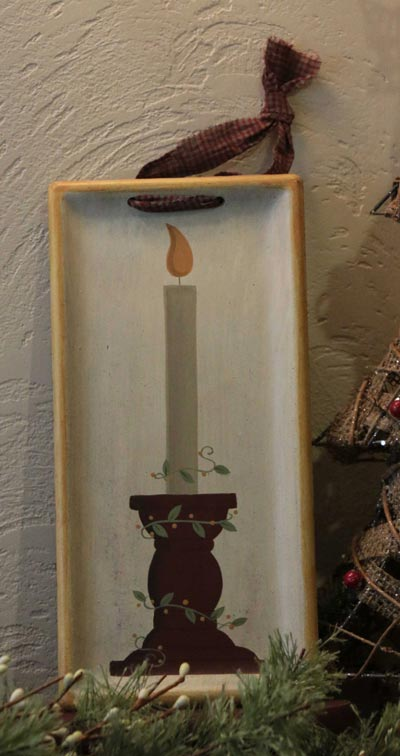 Candle Hanging Tray