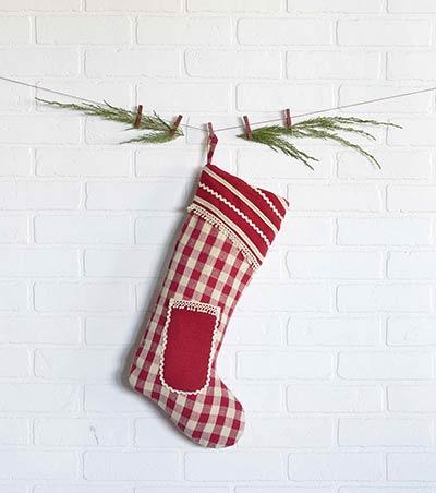 Gretchen Christmas Stocking - Long