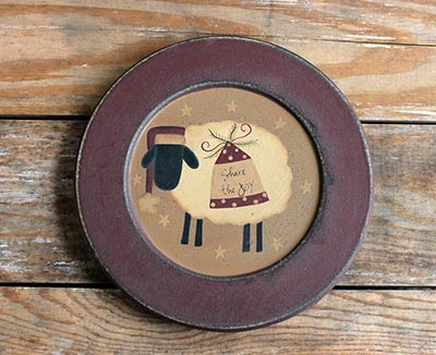 Share the Joy Sheep with Cap Plate