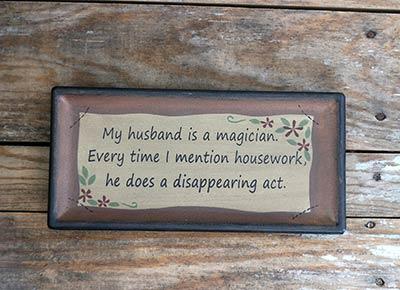 Husband Rectangle Tray