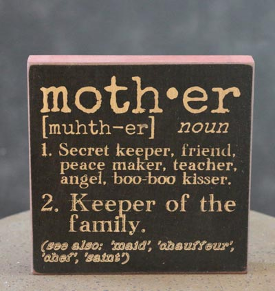 Mother Definition Sign