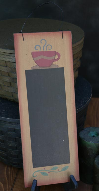 Coffee Hanging Chalkboard Sign
