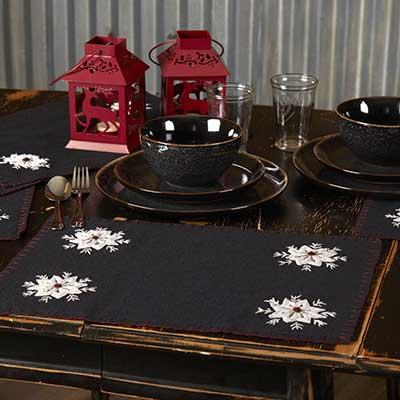 Christmas Snowflake Placemats (Set of 6)