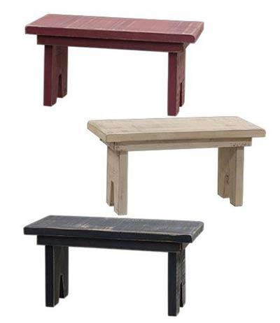 Mini Wooden Bench/Riser