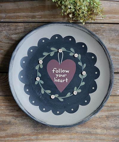 Follow Your Heart Plate