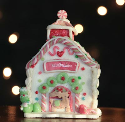 Gingerbread House - Reindeer Barn