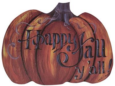 Happy Fall Pumpkin Wall Decor