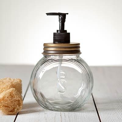 Sellers Soap Dispenser - Antique Brass