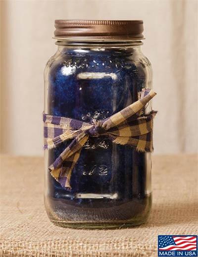 Blueberry Mason Jar Candle - 25 oz