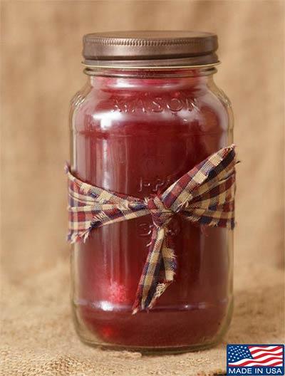 Christmas Spice Mason Jar Candle - 25 oz