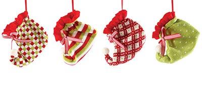 Claus Elf Bootie Ornament