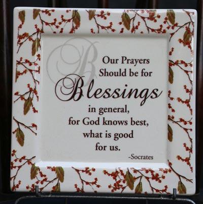 Blessings Ceramic Tile