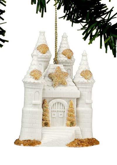 Sand Castle Ornament