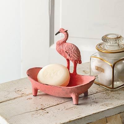 Flamingo Cast Iron Dish