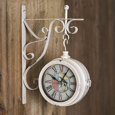 Joy In Every Day Pendant Wall Clock