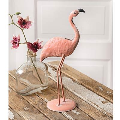 Flamingo Metal Figurine