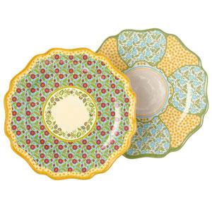 Outdoor Gatherings Melamine Dinner Plate