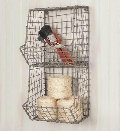 General Store Wire Wall Cubbies - Mini