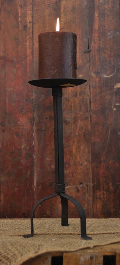 Iron Pillar Holder - 12 inch