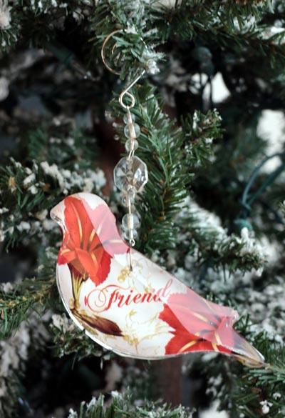 Friend Collage Ornament