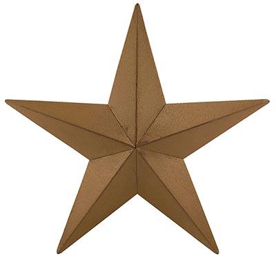 Mustard Barn Star, 12 inch