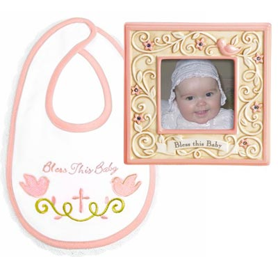 Bless This Baby Gift Set - Girl