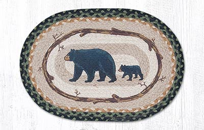 Mama & Baby Bear Braided Placemat