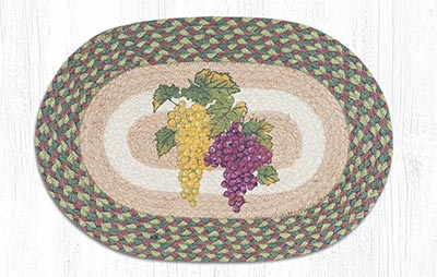 Grapes Braided Placemat