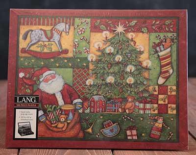 Patchwork Christmas Puzzle (500 piece)