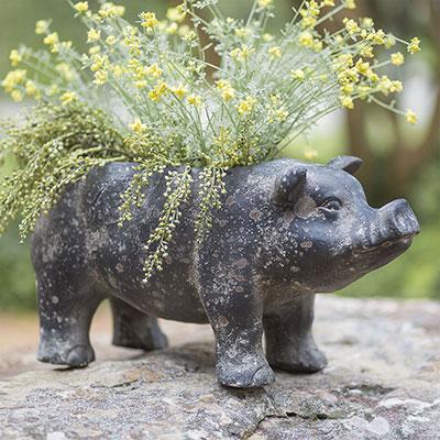 Large Pig Planter