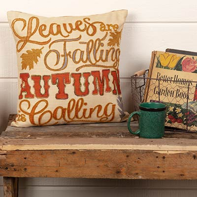 Autumn Calling Throw Pillow