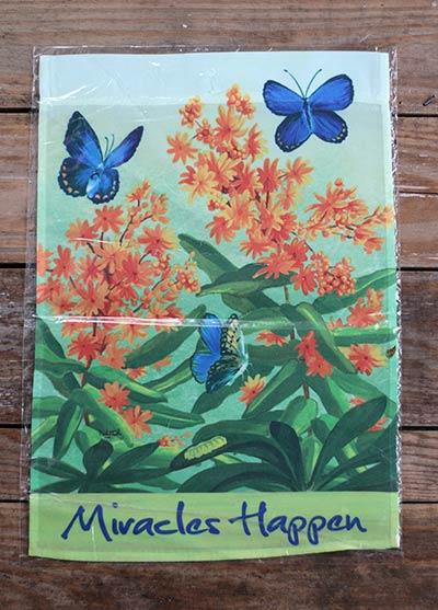 Karner Blue Butterfly Garden Flag