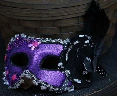 Masquerade Mask - Purple