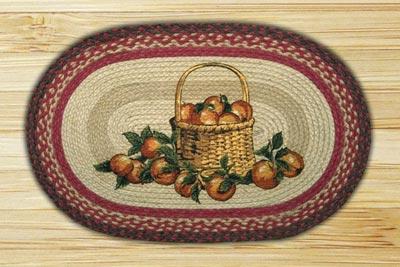 Apple Basket Braided Jute Rug