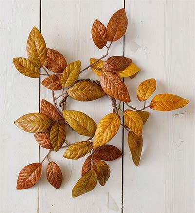 Aspen Fall Foliage Candle Ring