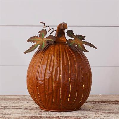 Rusty Pumpkin Luminary