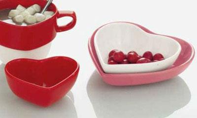 Shallow Heart Dish - Large