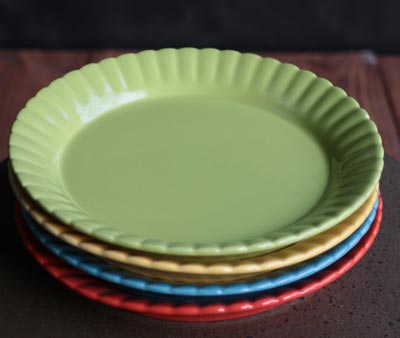 Party Appetizer Plates (Set of 4)