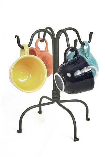 Four Hook Countertop Mug Rack