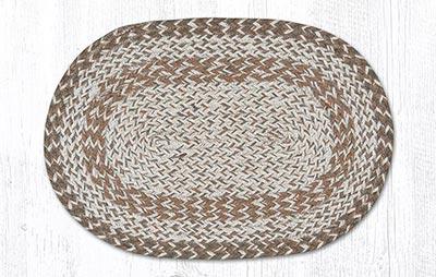 Tan Craft-Spun Placemat