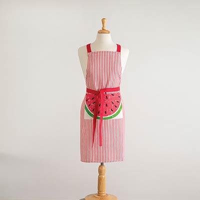 Watermelon Striped Apron