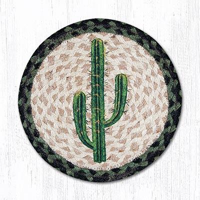 Saguaro Braided Tablemat - Round (10 inch)