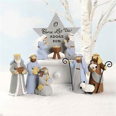 Miniature Nativity Set (Set of 3)